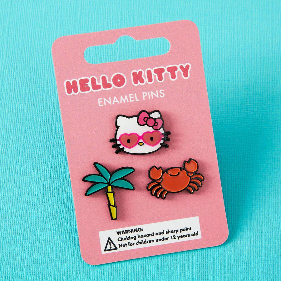 Hello Kitty Summer Fun Enamel Pin Pack