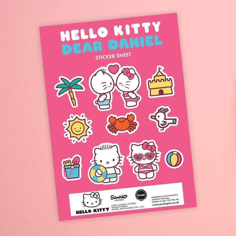 Hello Kitty Summer Love Sticker Sheet
