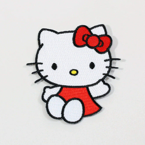 Punky Pins Hello Kitty Wave Iron On Patch