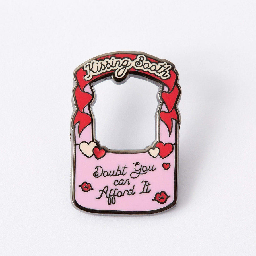 Kissing Booth Enamel Pin