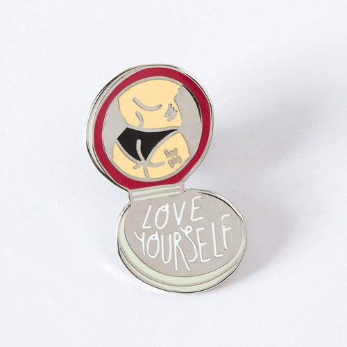 Punky Pins Love Yourself Enamel Pin