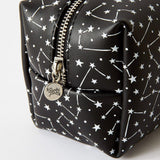 Punky Pins Monochrome Constellation Make Up Bag