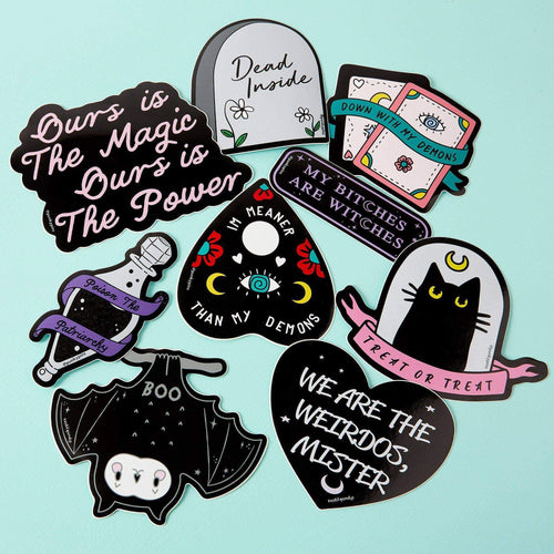 Punky Pins Ours is the Magic Ours is the Power Laptop Sticker