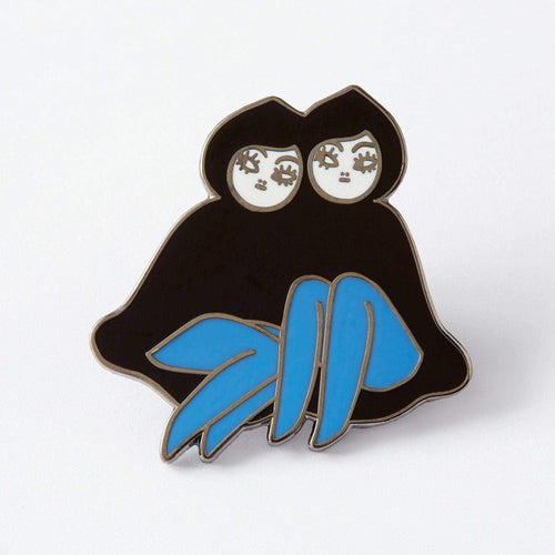 'Palindrome' Girls Mais2 Enamel Pin