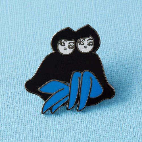 Punky Pins 'Palindrome' Girls Mais2 Enamel Pin