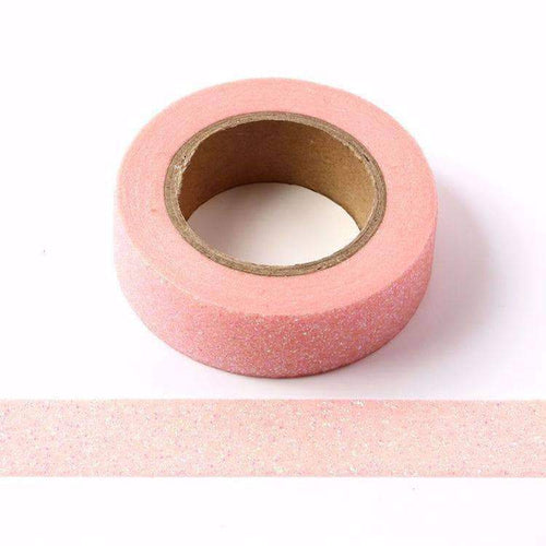 Punky Pins Pink Sparkle Glitter Washi Tape
