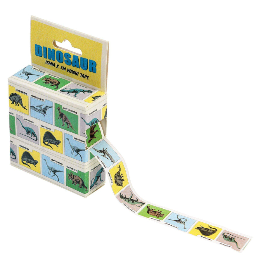 Prehistoric Land Dinosaur Washi Tape