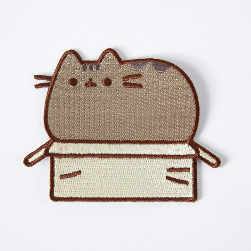 Punky Pins Pusheen Box Iron On Patch