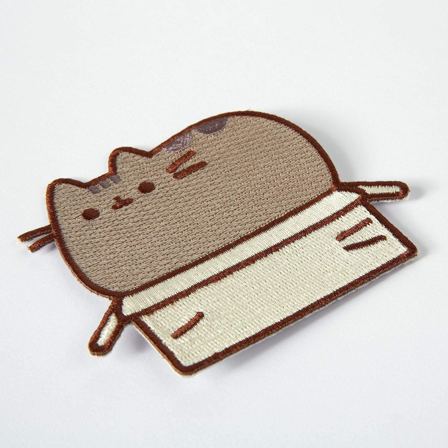 Pusheen Box Iron On Patch