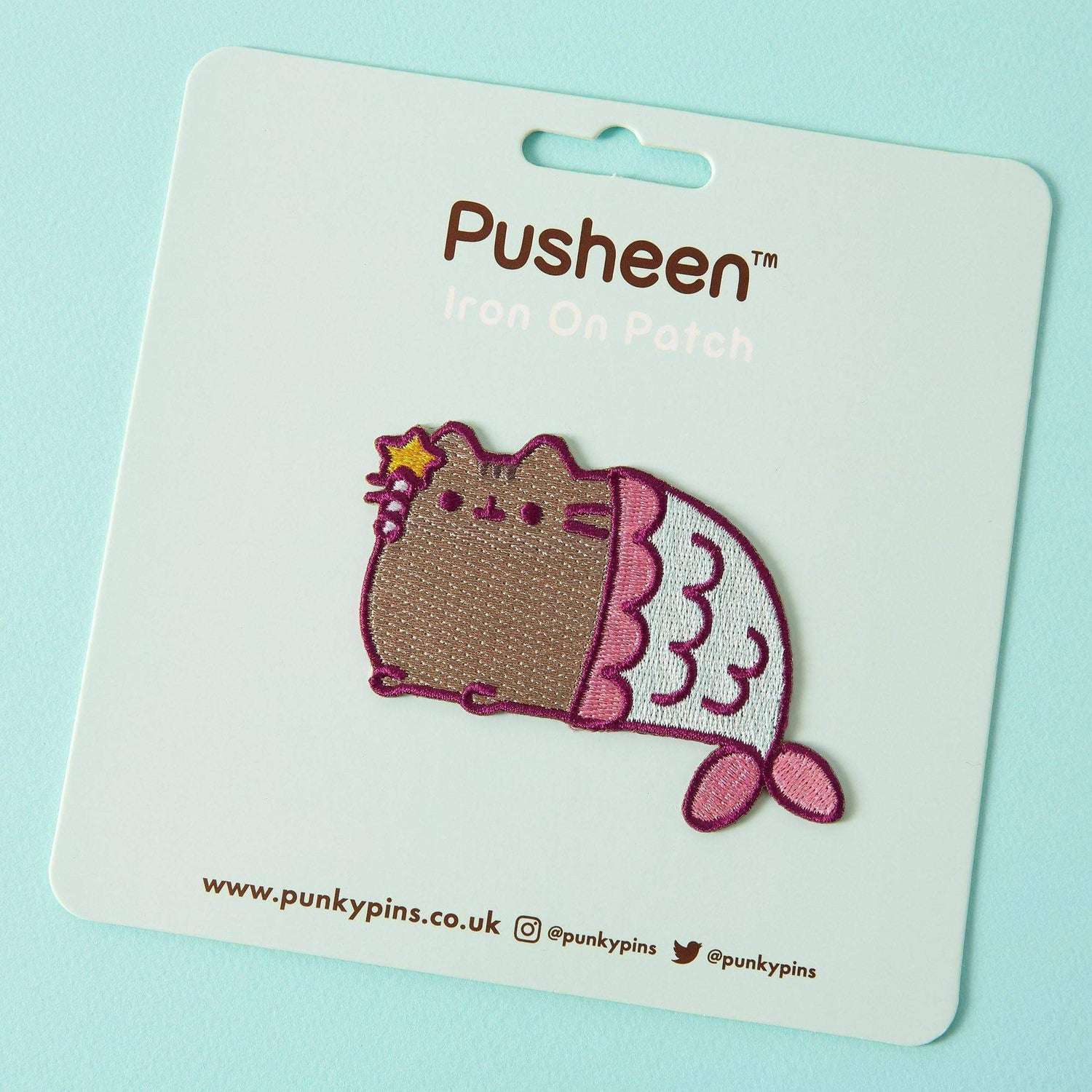Punky Pins Pusheen Mermaid Iron On Patch