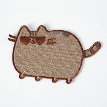 Pusheen Shades Iron On Patch