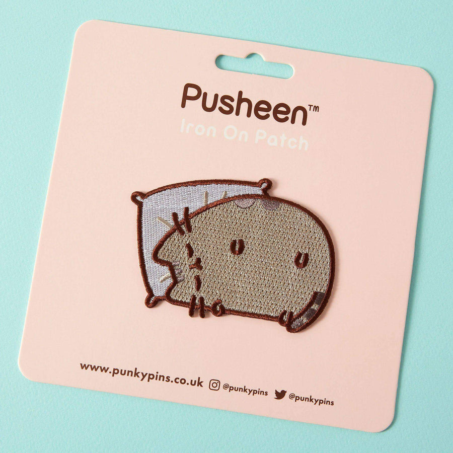 Pusheen Sleepy Iron On Patch