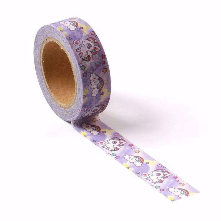 Rainbow Kawaii Unicorn Washi Tape