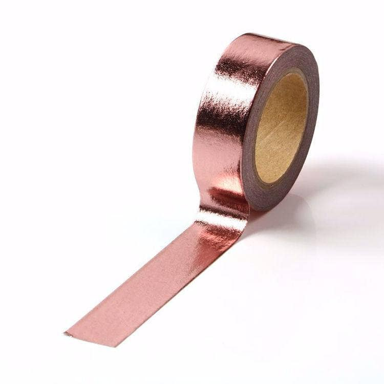 Punky Pins Rose Gold Foil Washi Tape