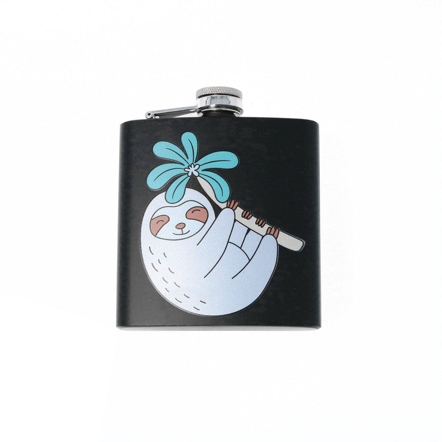 Punky Pins Sloth Hip Flask