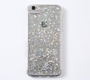 Punky Pins Sparkly Sequin Heart Glitter Phone Case