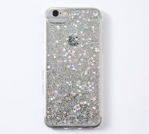 Sparkly Sequin Heart Glitter Phone Case