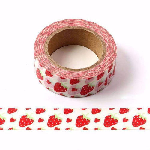 Punky Pins Strawberry Washi Tape
