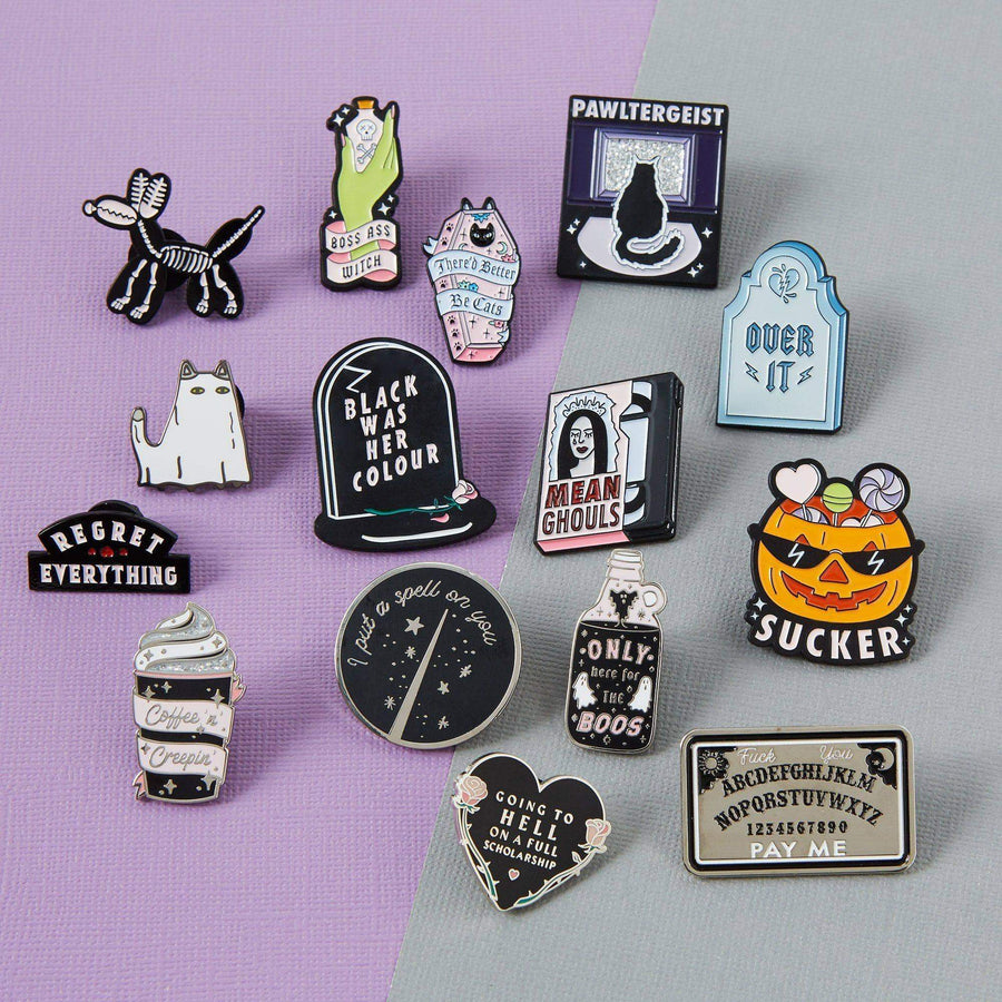 Sucker Enamel Pin