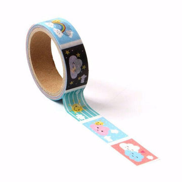 Weather printed Washi Tape