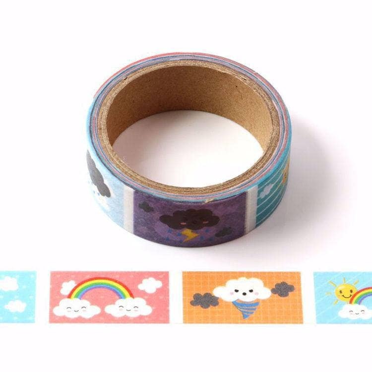 Punky Pins Weather printed Washi Tape