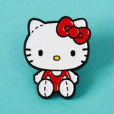 punkypins Retro Hello Kitty stitches enamel pin