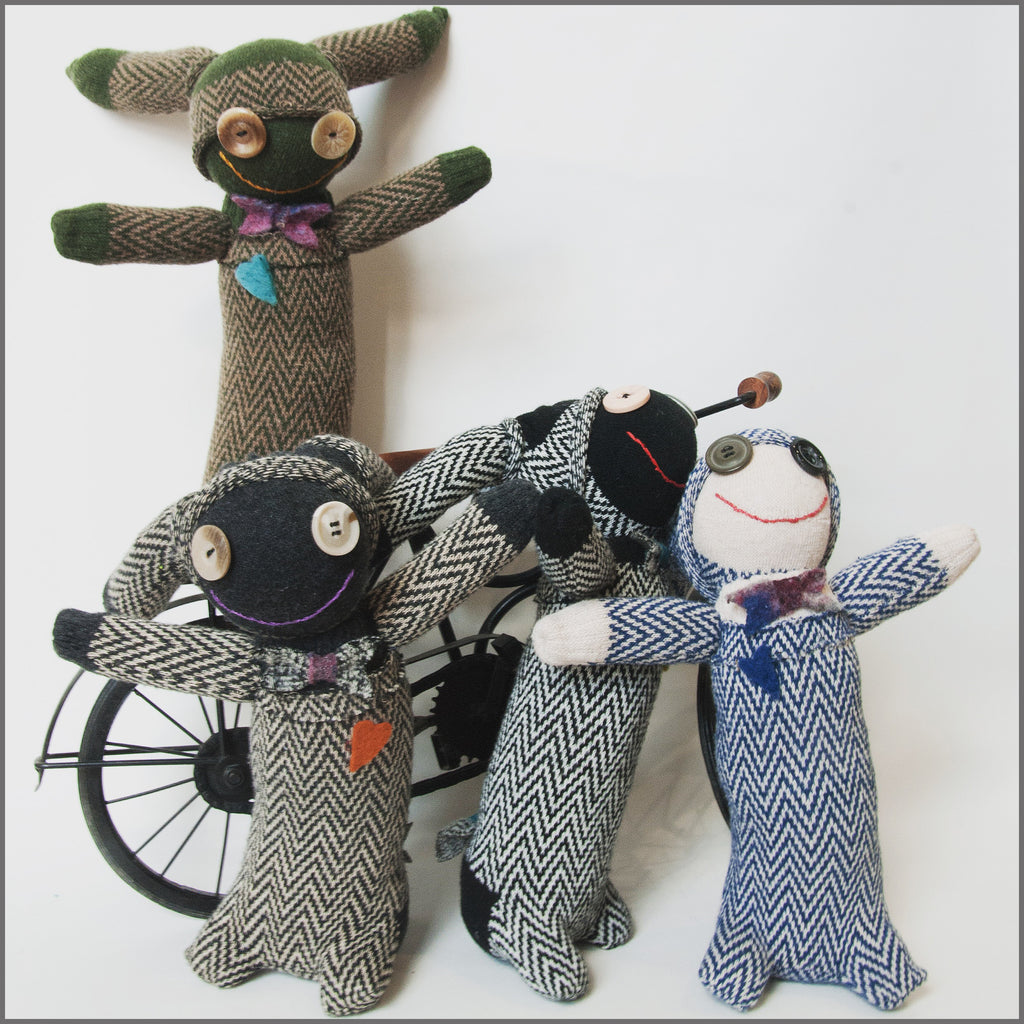 Sock Dolls - by Hoodies Goodies or make your own @ our workroom