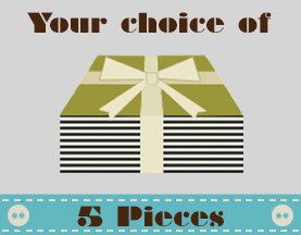 Fat Quarters - Your choice of 5 pieces