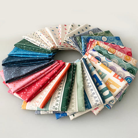 """Sewing Mood"" Fat Quarter Bundle 26 SKU / Free Shipping"