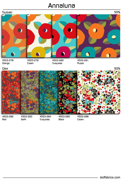 """Annaluna"" fat quarter bundle 27 SKU"