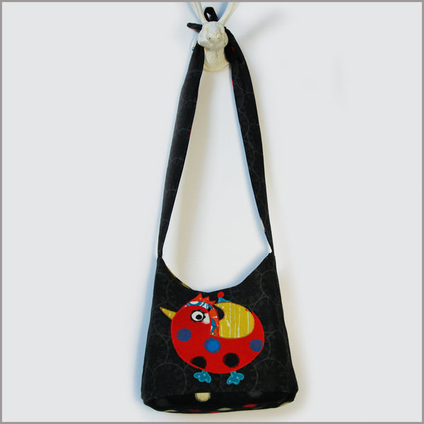 Crossbody Step-Out Pochette / Birds
