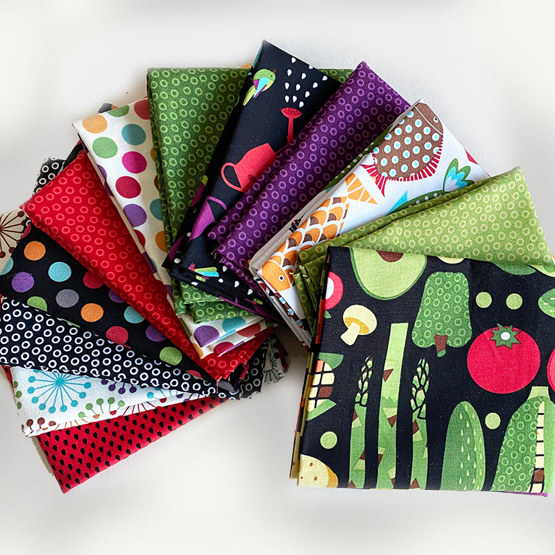Assorted 12 fat quarter Goodies bundle -1