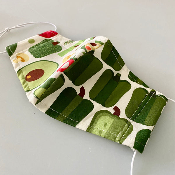 Veggie Patch Washable Facemask summer version - Unisex