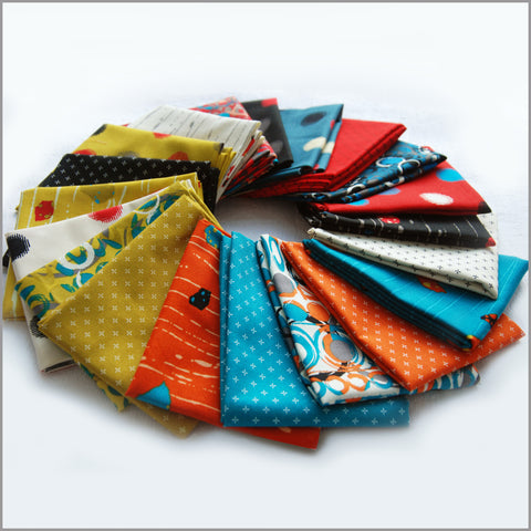 """Once Around"" fat quarter bundle 20 SKU"