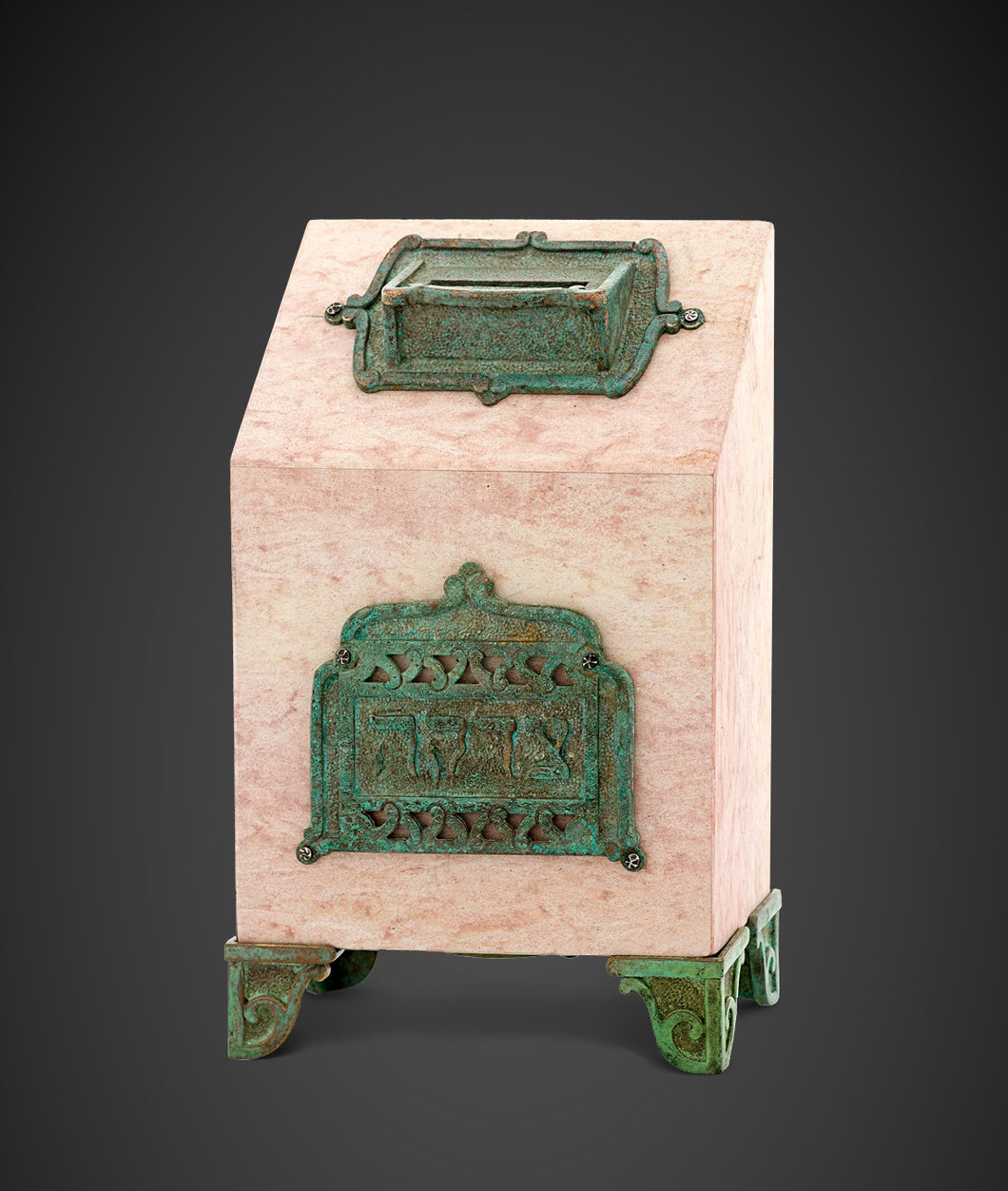 The Stone and Patina Charity box