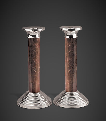 The Stone Pillars of Light Candlesticks