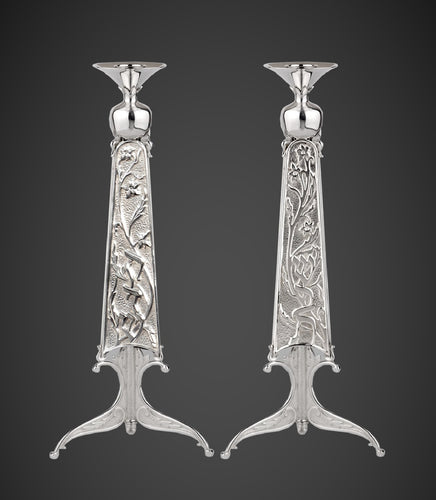 The Rimonim Candlesticks