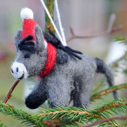 Donkey Tree Decoration