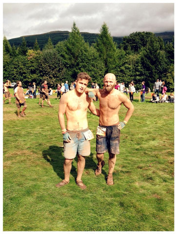Nomad founders at tough mudder