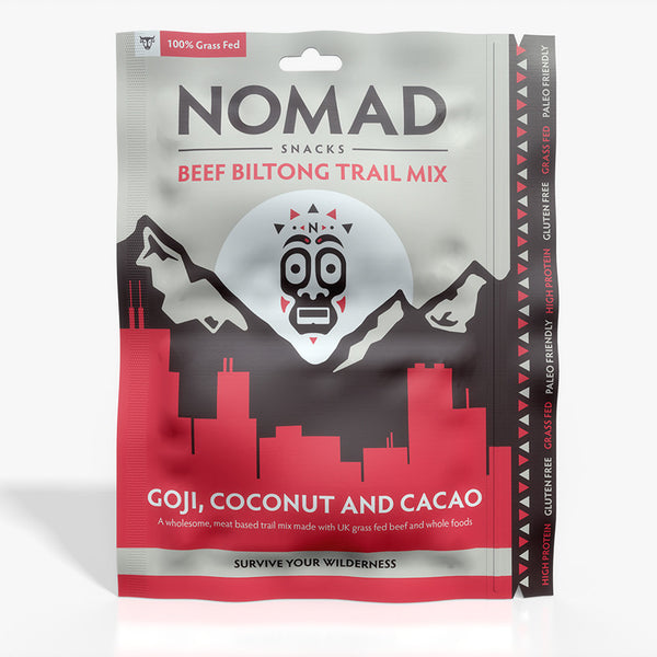 Nomad Survival Snacks - Goji, Coconut & Cacao