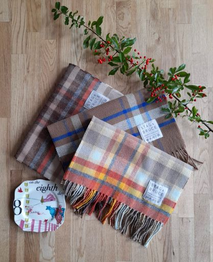 On The Eighth Day Of Christmas ~ Two Scarves
