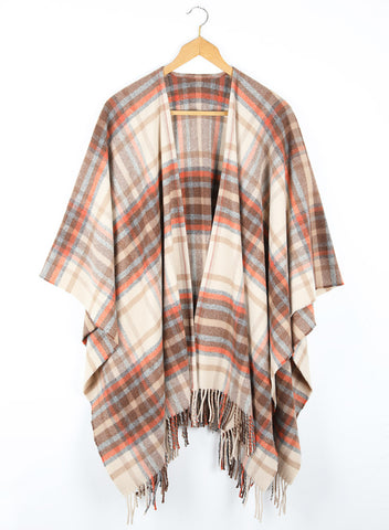 Orchy Wool Cape