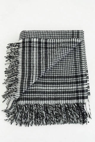 Shepherd's Plaid Wool Blanket