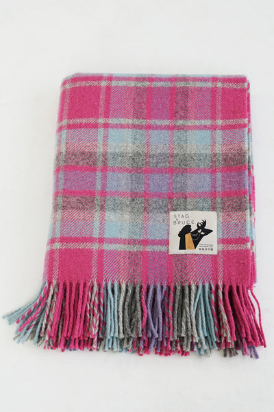 On The Twelfth Day Of Christmas ~ Pure New Wool Blanket