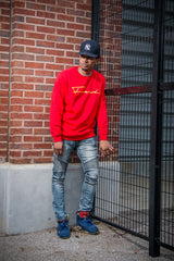 "Men's The ""Fresh"" Crew - Red"