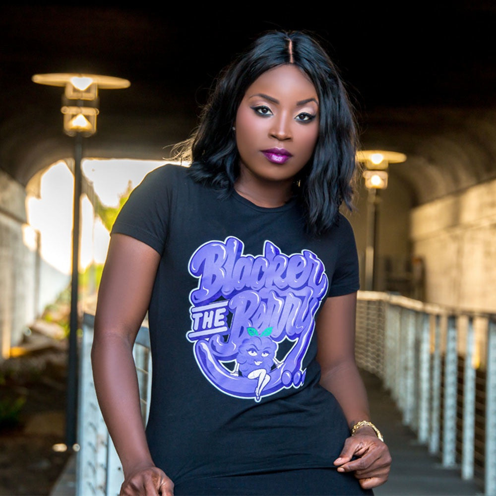"Women's ""Blacker the Berry"" Tee"
