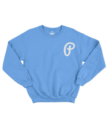 "Men's ""P"" Logo Crewneck - Carolina"