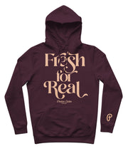 "Produce Section Clothing Women's ""Fresh For Real"" Hoodie - Plum/Colada"