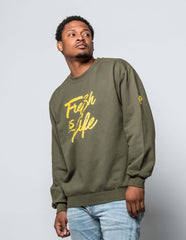 "Men's ""Fresh is Life"" Crew"