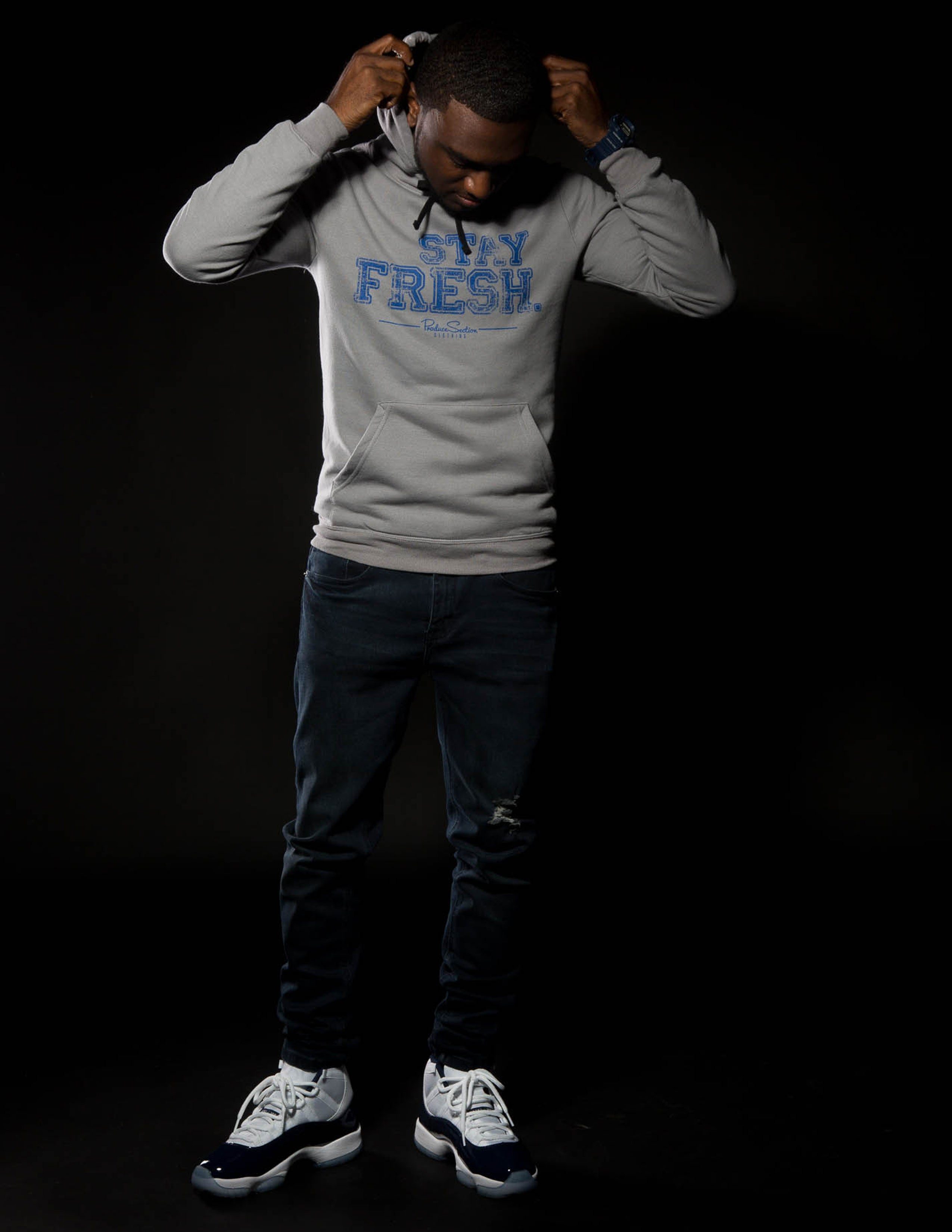 "Men's ""Stay Fresh"" Hoodie"
